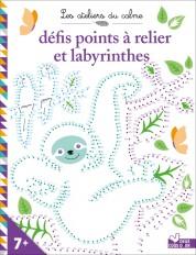 Défis points à relier et labyrinthes