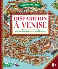 Disparition à Venise - livre avec carte