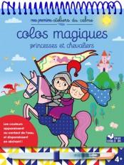 Colos magiques Princesses et chevaliers - bloc avec feutre à eau