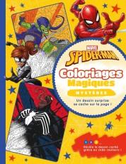 SPIDER-MAN- Coloriages Magiques - Mystères - Marvel