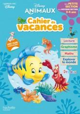 Disney animaux - De la Petite à la Moyenne section - Cahier de vacances 2021