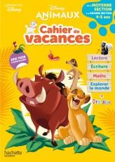 Disney animaux - De la Moyenne à la Grande Section - Cahier de vacances 2021