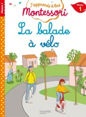La balade à vélo niveau 1 - J'apprends à lire Montessori