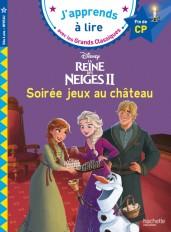 Disney - Reine des neiges, Soirée jeux au château CP niveau 3