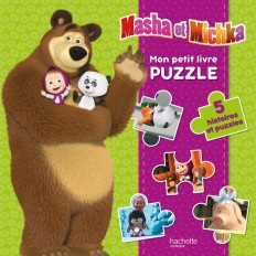 Masha et Michka - Mon petit livre puzzle NED