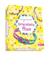 Mes bracelets fluo - mini coffret avec accessoires