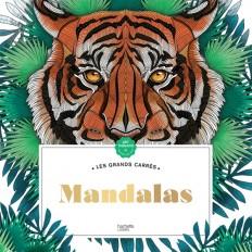 Grands carrés d'Art-thérapie Mandalas