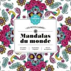 Les petits carrés d'Art-thérapie Mandalas du monde