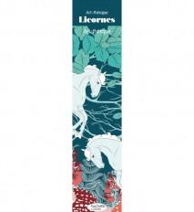 Marque-pages Art-thérapie Licornes