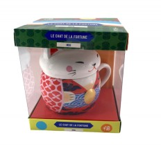 Coffret La chat de la fortune : Mug