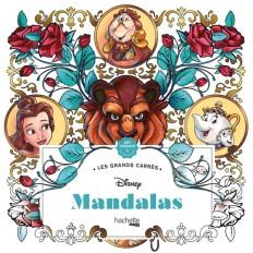 Les grands carrés Disney Mandalas
