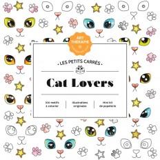 Les petits carrés d'Art-thérapie Cat Lovers