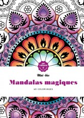 Mini-bloc d'Art-thérapie Mandalas magiques