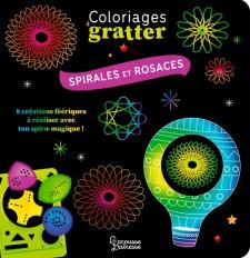 Coloriages à gratter - Spirales et rosaces