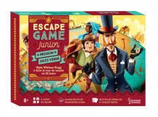 Escape Game Junior - Mission Jules Verne - Aide Phileas Fogg à faire le tour du monde en 80 jours