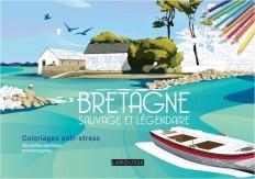 Bretagne sauvage et légendaire coloriages