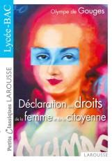 La déclaration des droits de la femme et de la citoyenne - Nouveau Bac