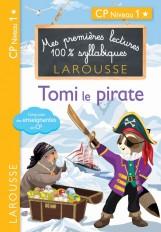 Premières lectures syllabiques - Tomi, le pirate, niveau 1
