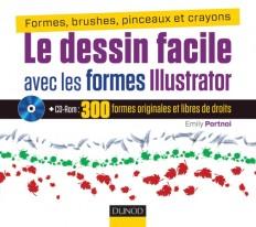 Le dessin facile avec les formes Illustrator - Formes, brushes, pinceaux et crayons