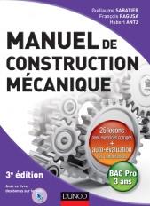 Manuel de construction mécanique - 3ème édition