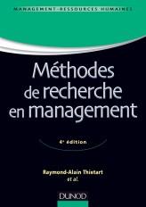 Méthodes de recherche en management - 4ème édition - Labellisation FNEGE -2015