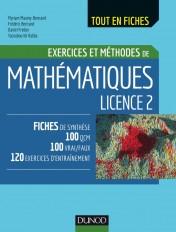 Mathématiques Licence 2 - Exercices et méthodes