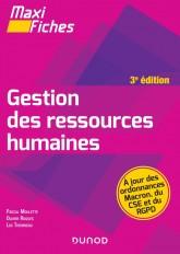 Maxi Fiches - Gestion des ressources humaines - 3e éd.