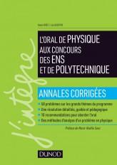 L'oral de physique aux concours des ENS et de Polytechnique