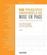 100 principes universels de mise en page pour l'imprimé et le Web - Avec 100 exemples et leurs grill