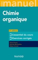 Mini manuel de Chimie organique - 4e éd.