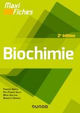 Maxi fiches - Biochimie - 2e éd.