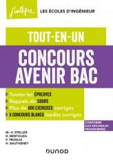 Concours Avenir Bac  - Tout-en-un - 4e éd.