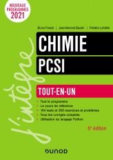 Chimie tout-en-un PCSI - 6e éd.