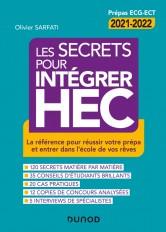 Les secrets pour intégrer HEC - 4e éd. - La référence pour réussir votre prépa