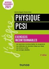 Physique Exercices incontournables PCSI - 5e éd.
