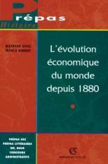 L'évolution économique du monde depuis 1880