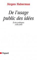De l'usage public des idées