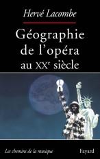 Géographie de l'opéra au XXe siècle