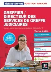 Réussite Concours - Greffier/Directeur des services de greffe judiciaires - Préparation complète