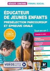Réussite Concours - Educateur jeunes enfants (EJE) Présélection Parcoursup & Ep orale - Préparation