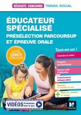 Réussite Concours - Educateur spécialisé (ES) Présélection Parcoursup & Epreuve orale - Préparation