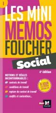 Les mini memos Foucher -  Social - 4e édition - Révision