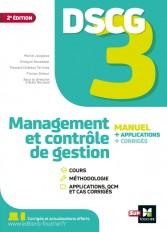 DSCG 3 - Management et contrôle de gestion - Manuel et applications Edition 2021