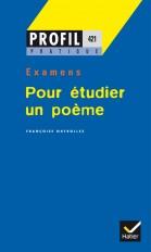 Profil Pratique - Pour étudier un poème