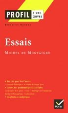 Profil - Montaigne (Michel de) : Essais