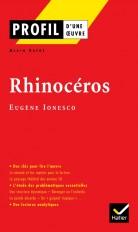 Profil - Ionesco (Eugène) : Rhinocéros