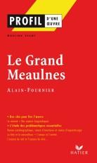 Profil - Alain-Fournier : Le Grand Meaulnes
