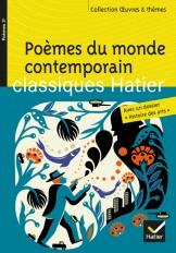 Poèmes du monde contemporain