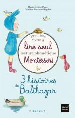 Coffret Premiers livres à lire seul 3 histoires de Balthazar Niveau 2 Pédagogie Montessori