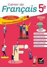 Cahier de Français 5e éd. 2016 - Cahier de l'élève